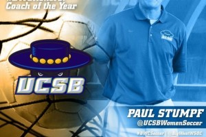Paul Stumpf, Head Coach UCSB Women's Soccer
